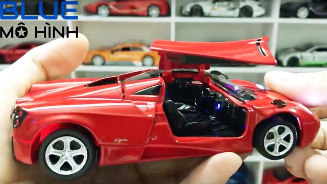 Chiêm ngưỡng mô hình xe Pagani Huayra Minh Nhựa