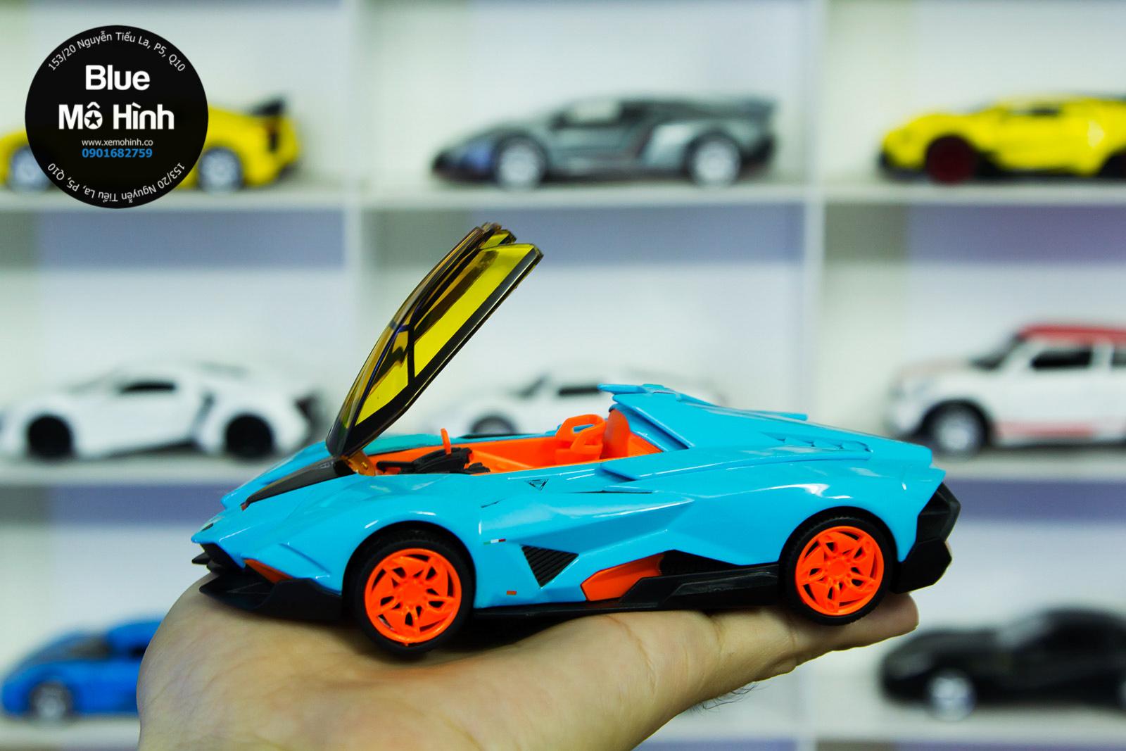 Lamborghini Egoista 1 Blue Mo Hinh