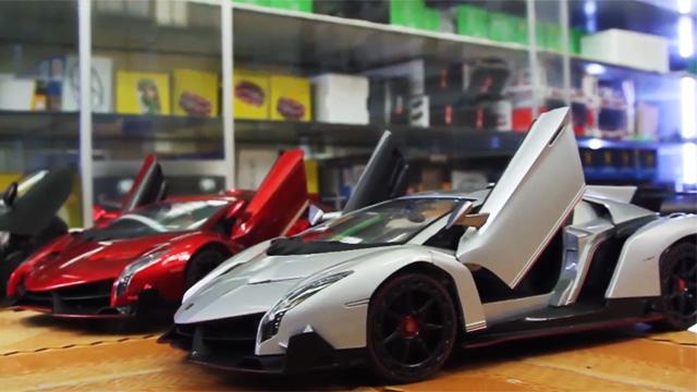 Xe điều khiển BMW i8, Lamborghini Venenno