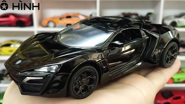Mẫu xe tuyệt đẹp trong phim Fast and Furious Lykan Hypersport Đen