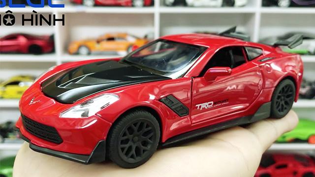 Xe thể thao Mỹ Chevrolet Corvette Đỏ