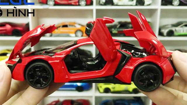 Mẫu xe tuyệt đẹp trong phim Fast and Furious Lykan Hypersport Đỏ